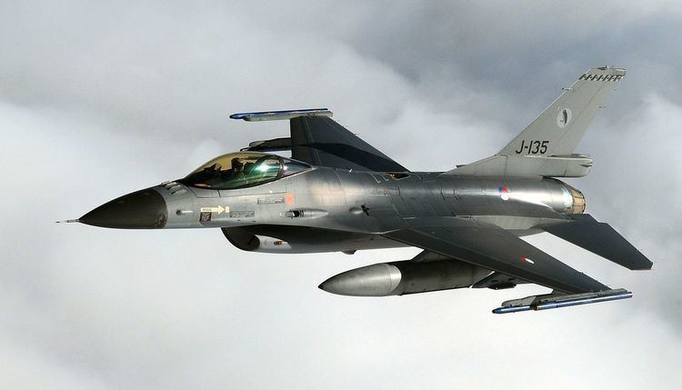 Royal Netherlands Air Force FileRoyal Netherlands Air Force F16 Fighting FalconJPG