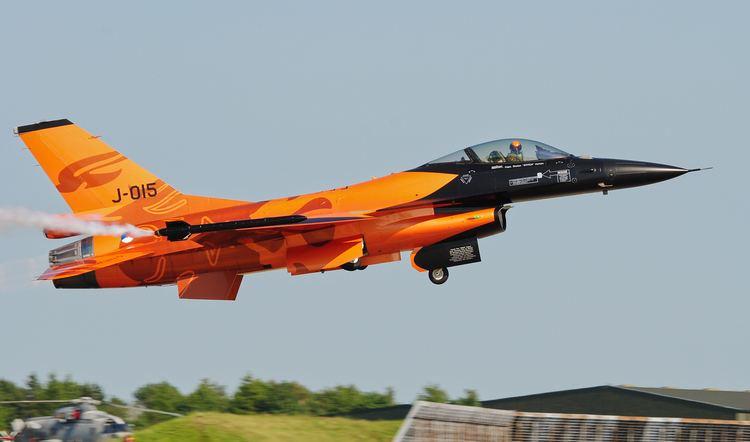 Royal Netherlands Air Force FileRoyal Netherlands Air Force F16AM Waddington Airshow 2013