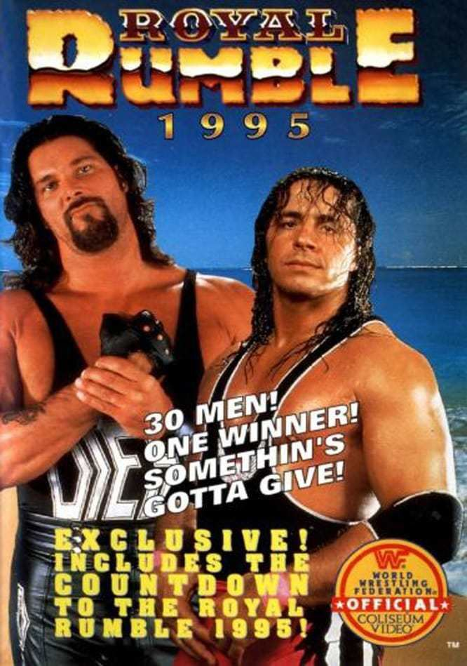 Royal Rumble (1995) WWE Royal Rumble 1995 1995 Posters The Movie Database TMDb