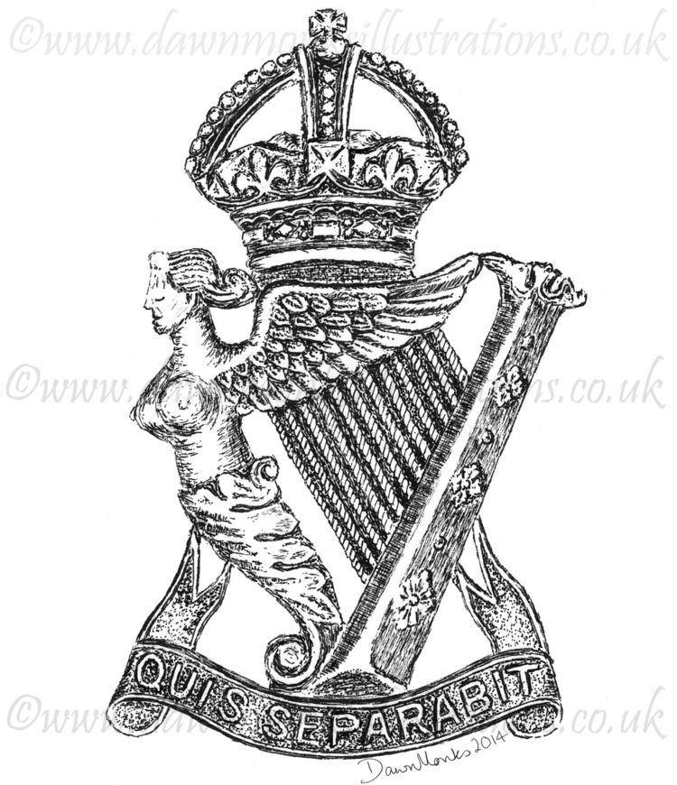 Royal Ulster Rifles wwwdawnmonksillustrationscoukwpcontentupload