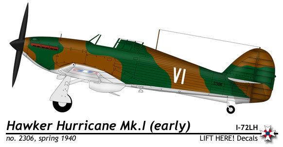 Royal Yugoslav Air Force Royal Yugoslav Air Force Hawker Hurricane MkI Paint Schemes and