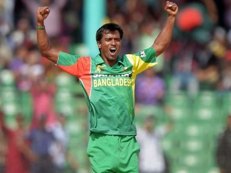 Rubel Hossain (Cricketer) playing cricket