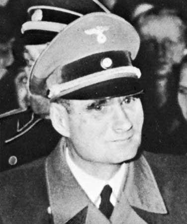 Rudolf Hess Rudolf Hess German Nazi leader Britannicacom