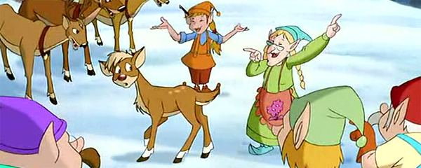 Rudolph the Red-Nosed Reindeer: The Movie Rudolph the RedNosed Reindeer The Movie Cast Images Behind The