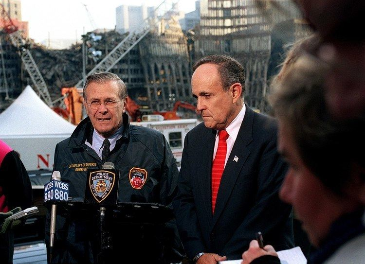 Rudy Giuliani During The September 11 Attacks Alchetron The Free
