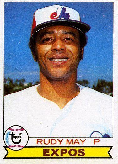 Rudy May 1979 Topps 603 Rudy May Montreal Expos Baseball Cards