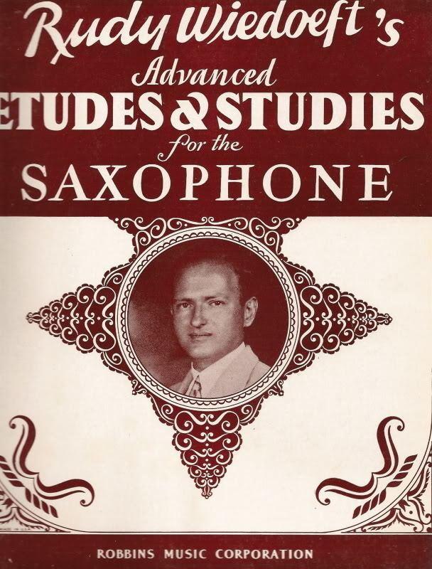 Rudy Wiedoeft Vintage Saxophone Method Books