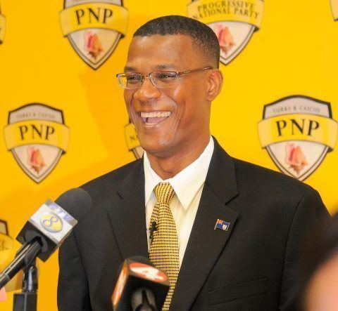 Rufus Ewing New Turks and Caicos Premier SwornIn SAT News Dominica