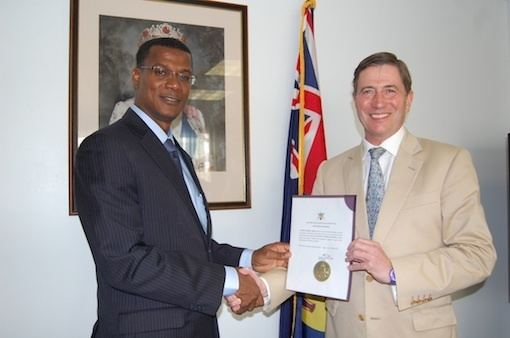 Rufus Ewing Dr Rufus Ewing Sworn in as New Premier of Turks and Caicos