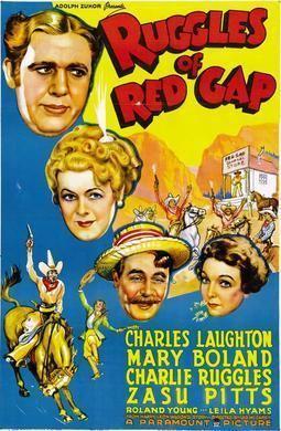 Ruggles of Red Gap (1923 film) movie poster