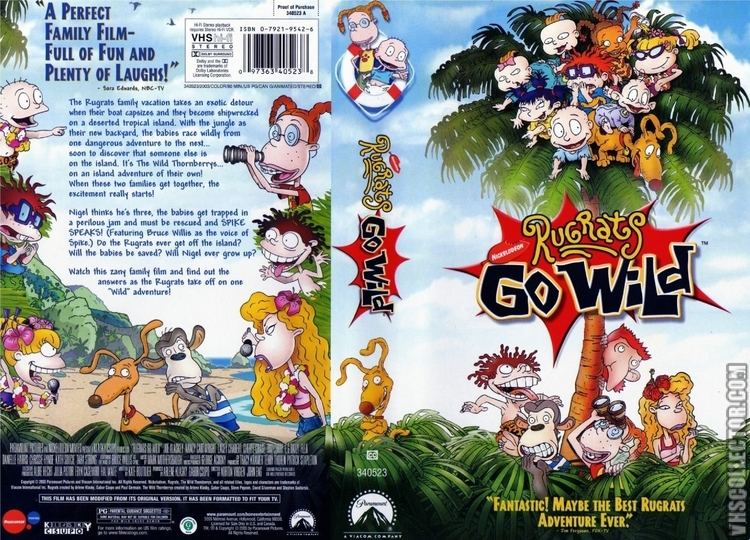 Rugrats Go Wild Rugrats Go Wild VHSCollectorcom Your Analog Videotape Archive