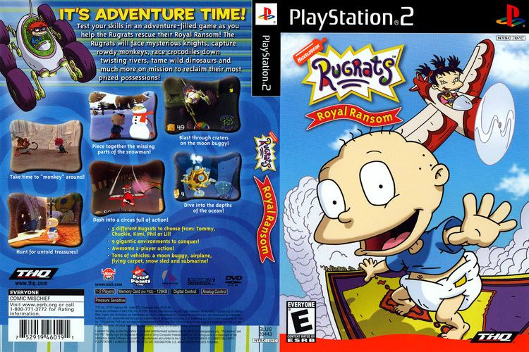 Rugrats: Royal Ransom Rugrats Royal Ransom Cover Download Sony Playstation 2 Covers