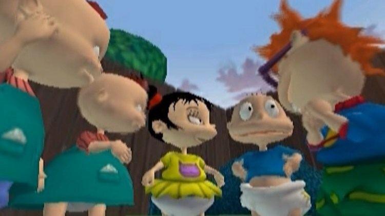Rugrats: Royal Ransom First 30 Minutes Rugrats Royal Ransom PS2GC YouTube