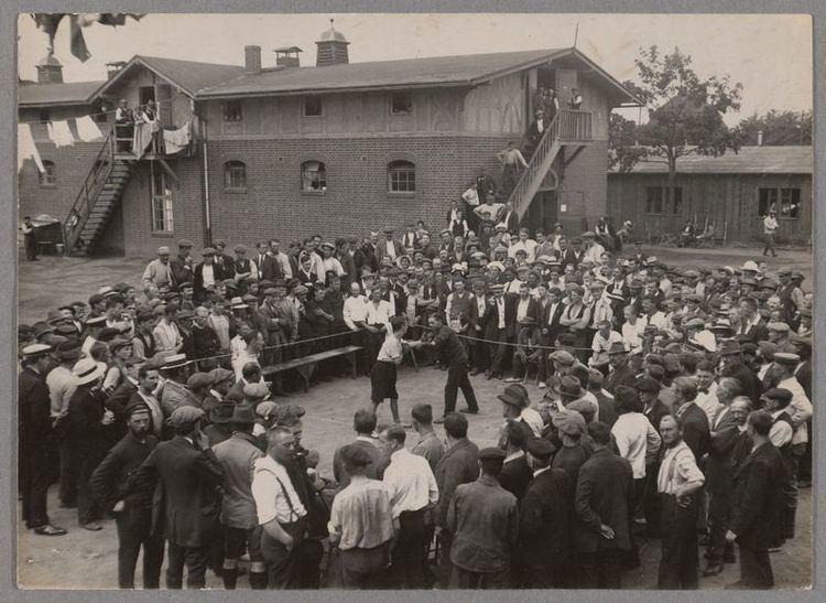Ruhleben internment camp HLSL Digital Exhibits Ruhleben A picture of a World War I