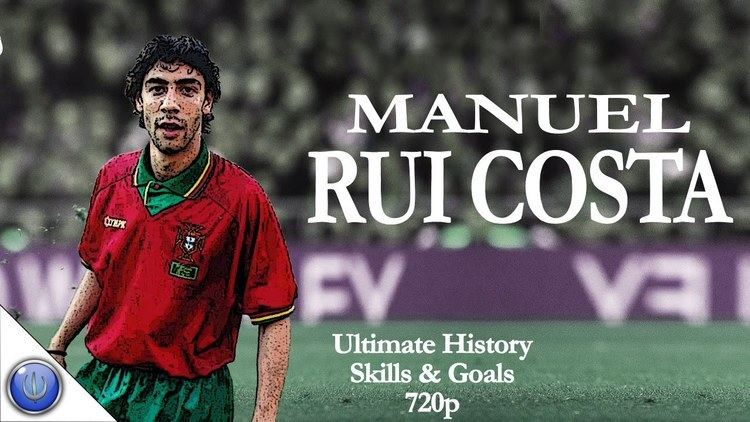 Rui Costa Manuel RUI COSTA Ultimate History Skills Goals 720p YouTube