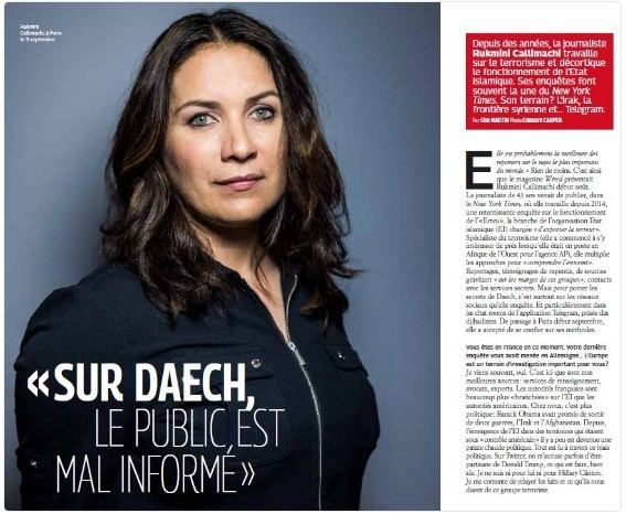 Rukmini Maria Callimachi MediaTips Rukmini Callimachi on Covering ISIS and Keeping it Grey