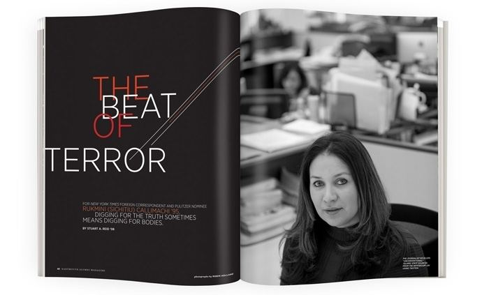 Rukmini Maria Callimachi The Beat of Terror Dartmouth Alumni Magazine