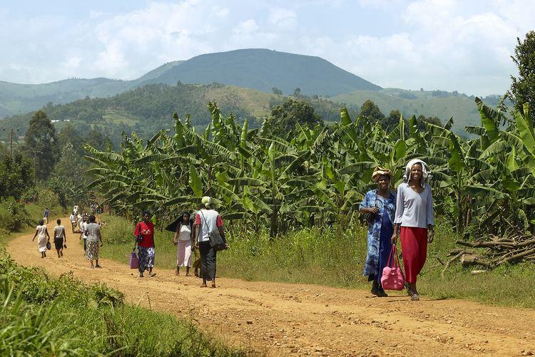 Rubiriizi Rukungiri District Uganda Women walking along Flickr