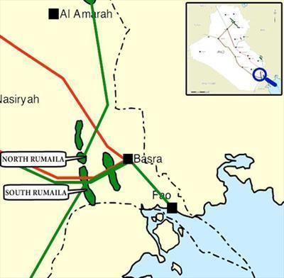 Rumaila oil field Iraq CNPC and BP in talks to develop Rumaila oilfield