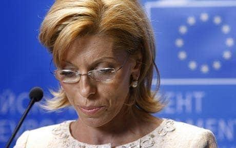 Rumiana Jeleva Bulgarian candidate quits European Commission Telegraph