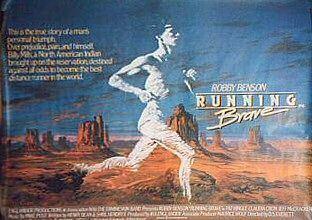 Running Brave Running Brave Movie Poster 2 of 2 IMP Awards