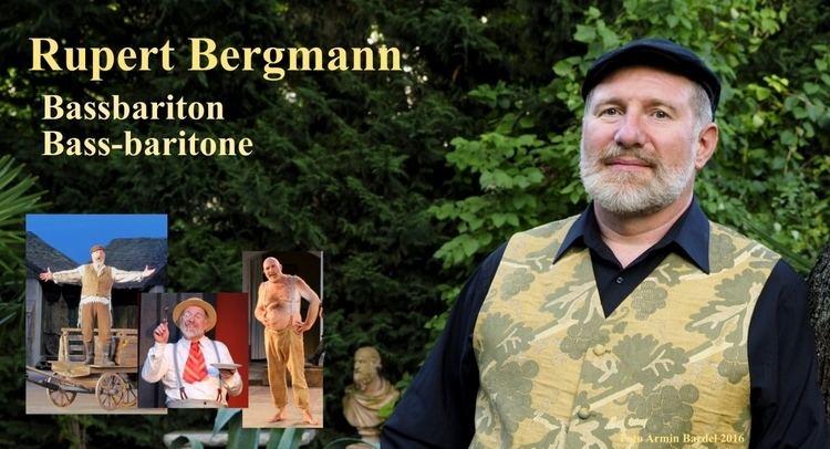 Rupert Bergmann Rupert Bergmann Bassbariton Opernsnger operasinger cantante