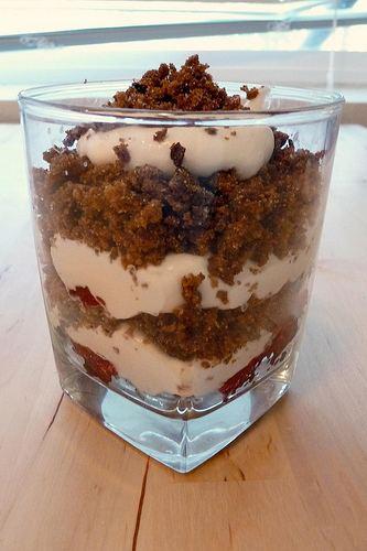 Rupjmaizes kārtojums Rupjmaizes krtojums Sweetened Rye Trifle The Kitchen Mouse