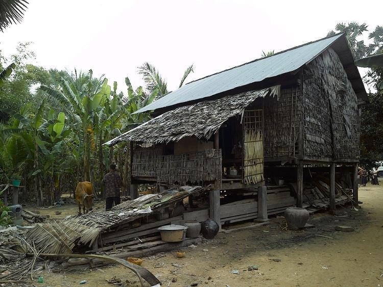 Rural Khmer house