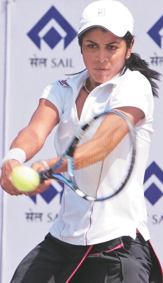 Rushmi Chakravarthi India39s tennis players at the Olympics Photo6 India