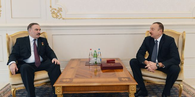 Ruslan Aushev Official website of President of Azerbaijan Republic NEWS