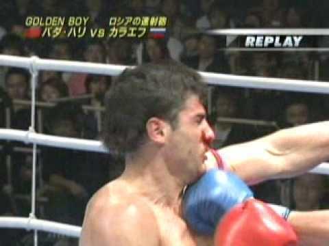 Ruslan Karaev Badr Hari vs Ruslan Karaev 2007 YouTube