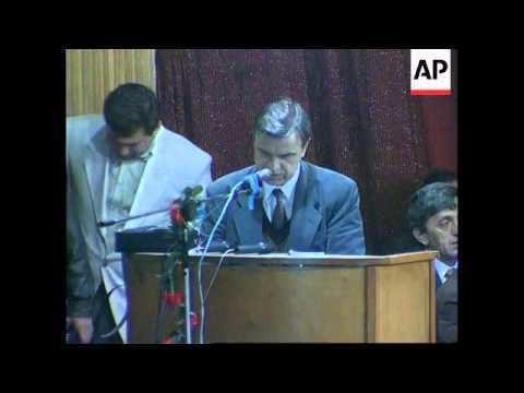 Ruslan Khasbulatov RUSSIA CHECHNYA RUSLAN KHASBULATOV POLITICAL COMEBACK YouTube