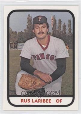 Russ Laribee 1981 TCMA Minor League Base 1142 Russ Laribee COMC Card