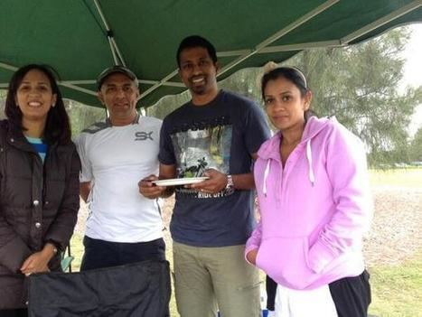 Russel Arnold (Cricketer) family