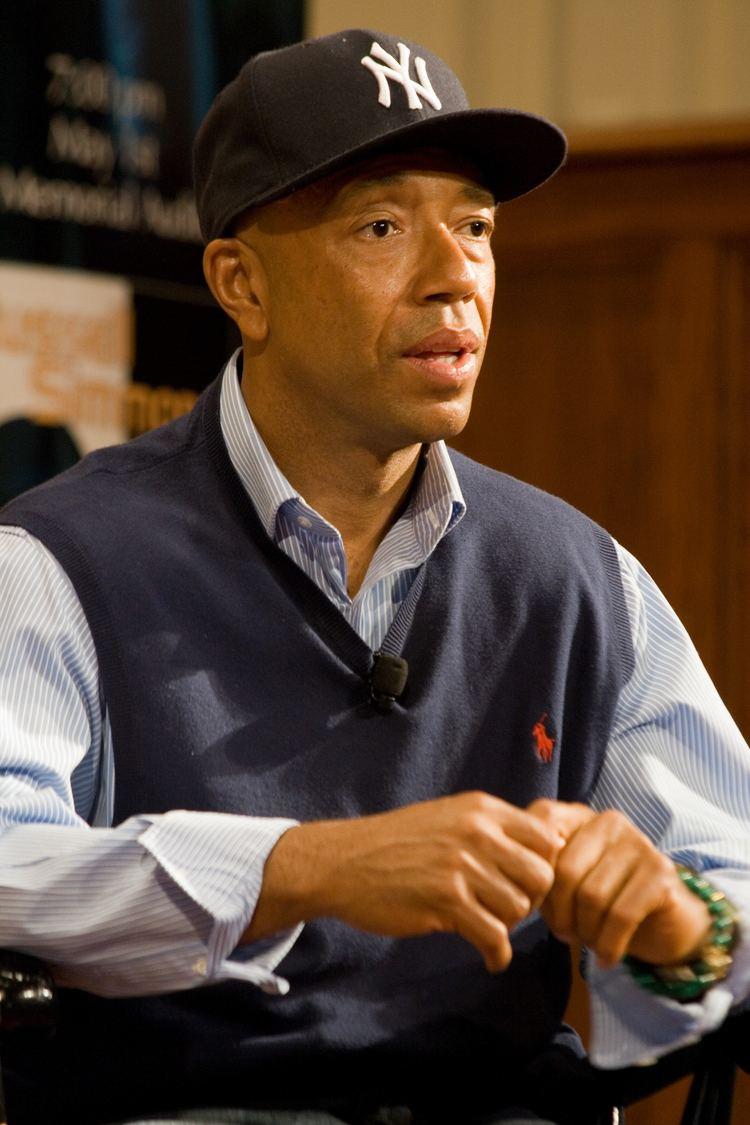 Russel Simmons Russell Simmons Wikipedia the free encyclopedia