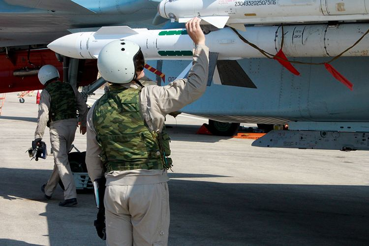 Russian Aerospace Forces Flights of the Russian Aerospace Forces39 aircraft from the Khmeimim