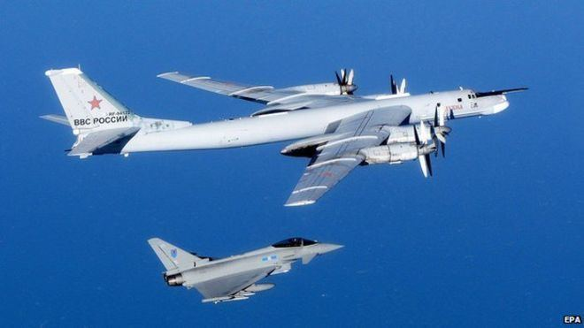 Russian Air Force Russian air force planes test Nato defences BBC News
