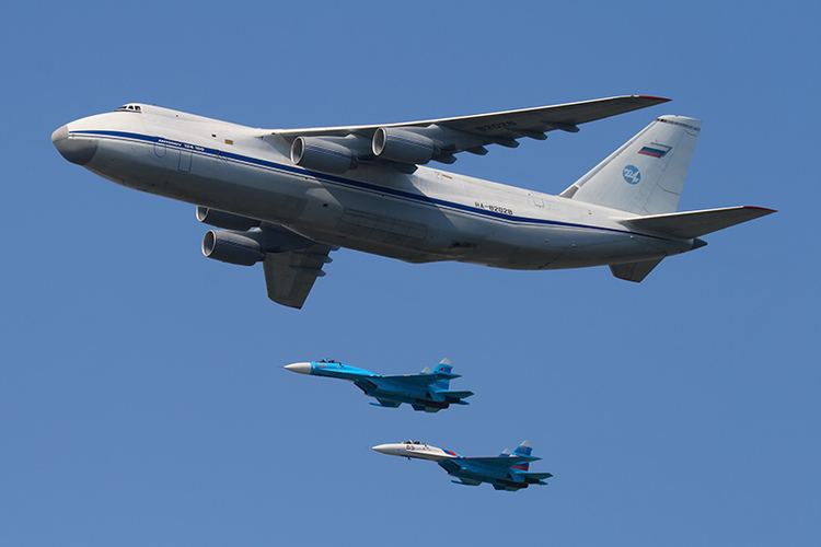 Russian Air Force The Aviationist Here39s how the Russian Air Force moved 28 aircraft