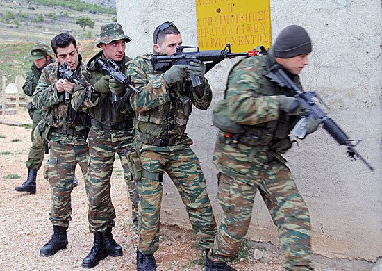 Russian Airborne Troops Tactical exercise of Russian airborne troops in Greece Ministry of