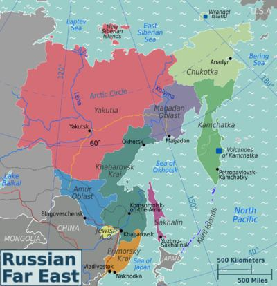 Russian Far East Russian Far East travel guide Wikitravel