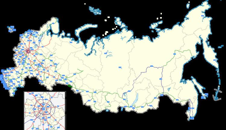 Russian federal highways