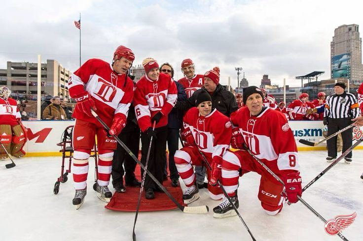 Russian Five Russian Five at the Winter Classic alumni game Hockey