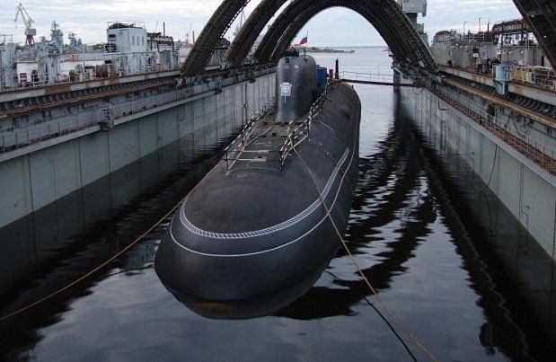 Russian submarine Severodvinsk Russian Navy will receive a submarine Severodvinsk one year later