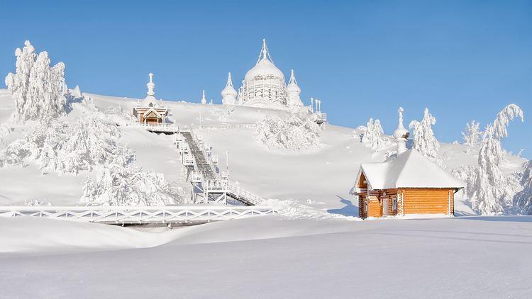Russian Winter Beautiful snowy Russian winter HD wallpapers VolGanga