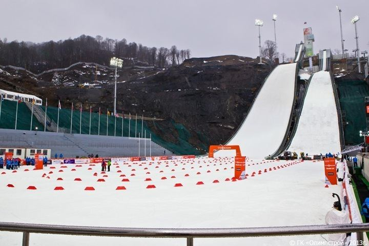 RusSki Gorki Jumping Center wwwskisprungschanzencomphotosrusestosadok33jpg