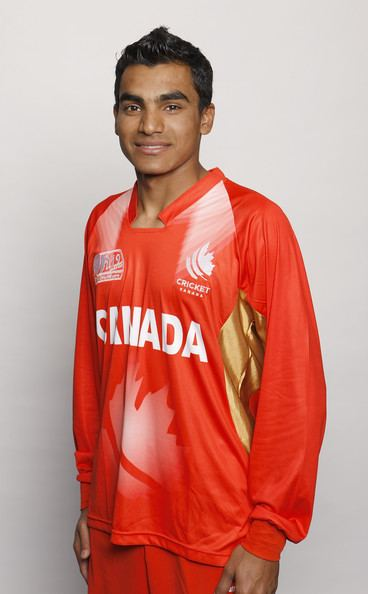 Rustam Bhatti Rustam Bhatti Photos Photos Canada Headshots ICC U19 Cricket