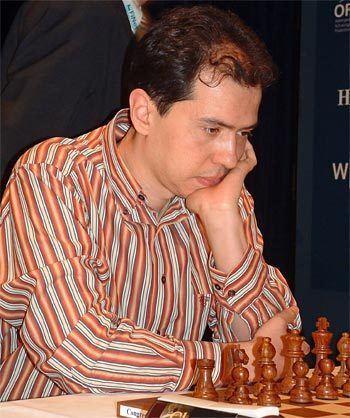 Rustam Kasimdzhanov Mainz 2007 Anand leads in Rapid World Championship