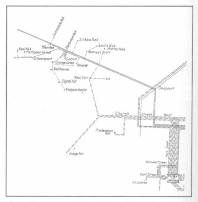 Rustenburg in the past, History of Rustenburg