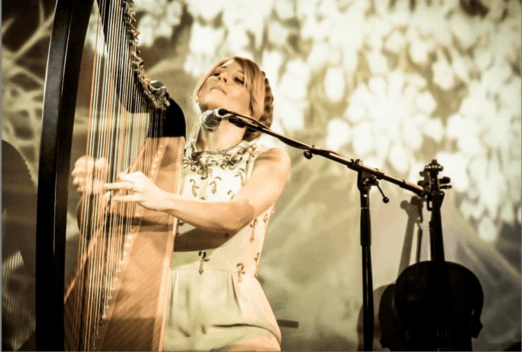 Ruth Acuff Ruth Acuff Heart Harp Passion Light Dark Balance Equality