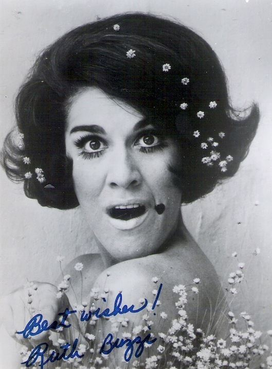 Ruth Buzzi Hairnet